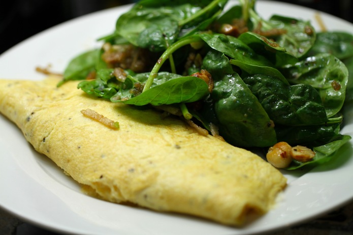 omlette and salad_2
