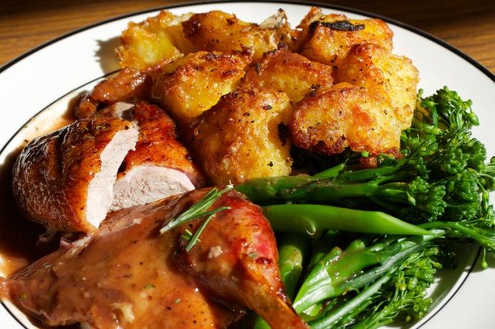 roast duck on plate 1_sm