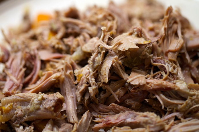 shredded duck