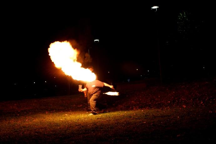 head of fire