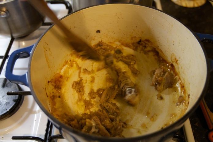 add flour_stir well