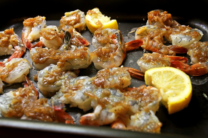 garlic prawns_add relish
