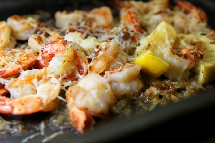 Garlic Relish Prawns